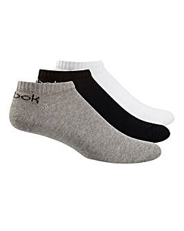 Reebok 3 Pack Core Ankle Sock