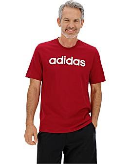 adidas Lin Logo T Shirt