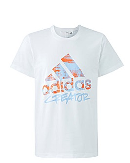 adidas Large Linear Logo T-Shirt