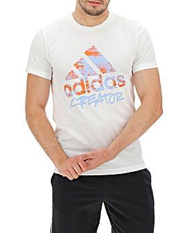 adidas Large Linear Logo T-Shirt