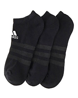 adidas 3 Pk Low Socks