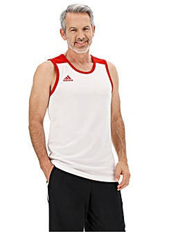 adidas Reversible Slim Fit Jersey Tank