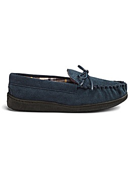 Cushion Walk Suede Mocassin Slippers