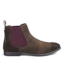 Ben Sherman Lombard Suede Chelsea Boots