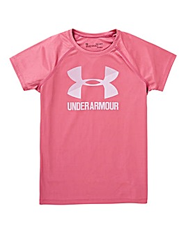 Under Armour Younger Girls Logo Tee