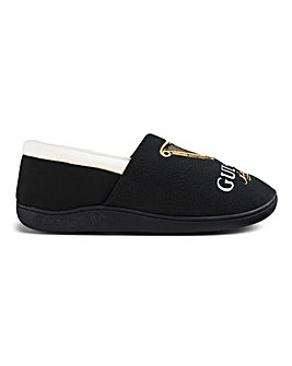 Mens Guiness Full Back Slippers