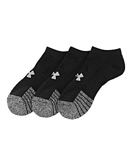 Under Armour Pack of 3 No Show Socks