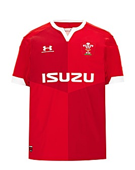 Wales Under Armour Home SS jersey