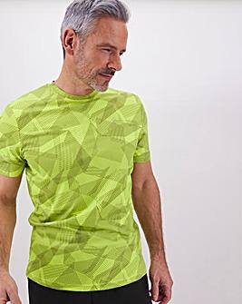 Jacamo Active Print T-Shirt Regular