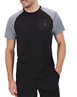 Jacamo Active Raglan T-Shirt Long