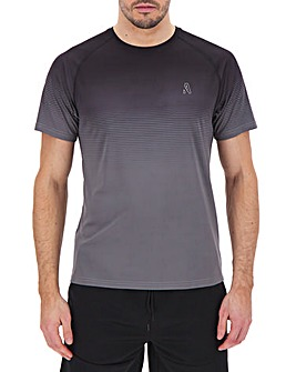 Jacamo Active Gradient T-Shirt Long