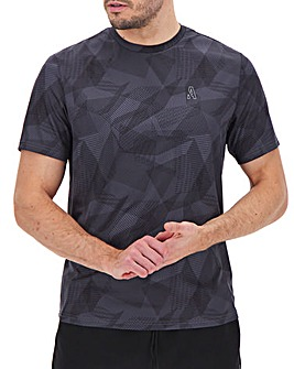 Jacamo Active Print T-Shirt Long