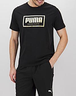 Puma Foil Logo T-Shirt