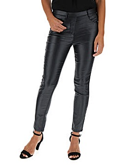 Bella Black Glitter Slim Leg Jeggings