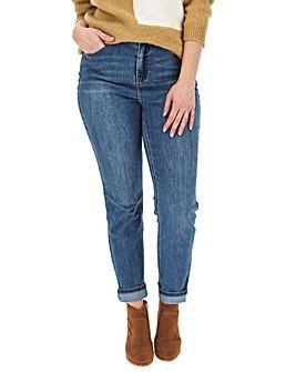 Blue Wash Demi High Waist Mom Jeans