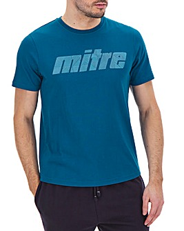 Mitre Logo Print T-Shirt Long