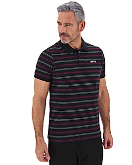 Mitre Stripe Polo Top Long