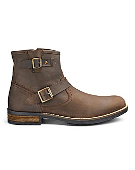 Joe Browns Waxed Buckle Boots