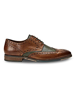 Joe Browns Two Tone Leather Formal Shoes