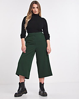Simply Be Emerald Tailored Culotte