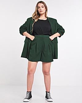Simply Be Emerald Tailored Bermuda Short