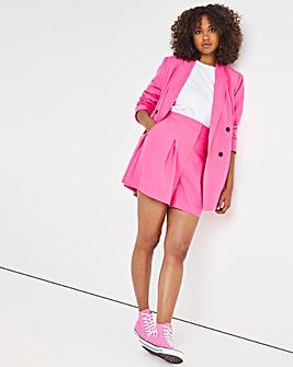 Hot Pink Tailored Bermuda Short