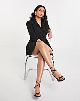 Simply Be Twist Front Blazer Dress