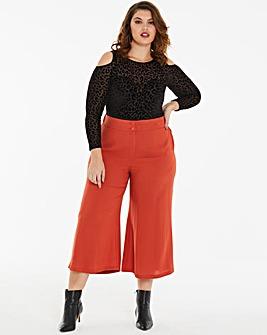 Paprika Wide Leg Culottes