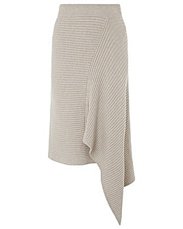 Monsoon Alea Ribbed Knitted Skirt