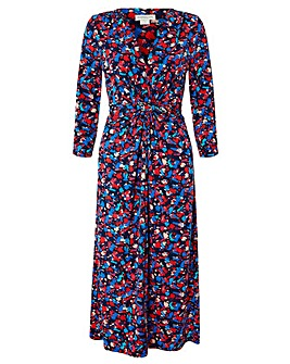 Monsoon Betty Print Midi Dress