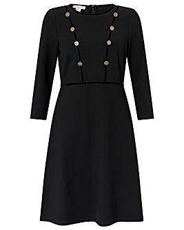 Monsoon Marie Short Ponte Dress