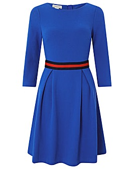 Monsoon Bea Textured Midi Dress