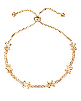 Buckley Hugs & Kisses Bracelet Gold