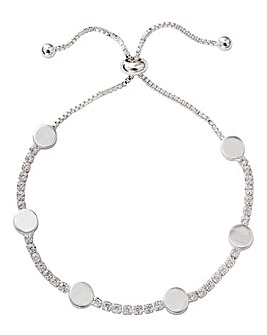Buckley Hugs & Kisses Bracelet Silver