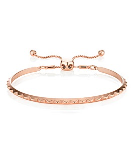 Buckley Pyramid Bangle Rose