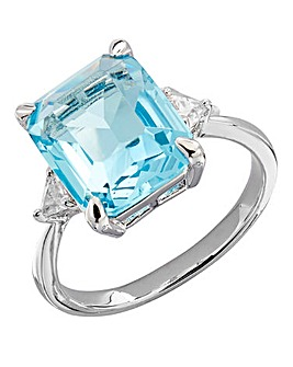 Buckley Meghan Aquamarine Ring
