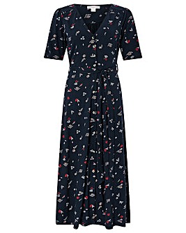Monsoon Lulu Print Dress