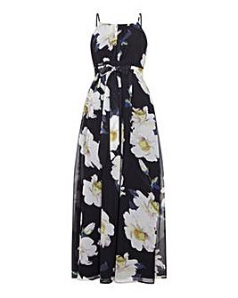 Yumi Curves Floral Maxi Dress