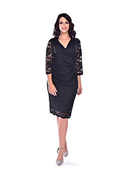 Grace lace midi dress