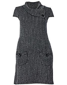 Izabel London Curve Knit Tunic Dress