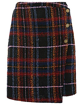 Monsoon maude check skirt