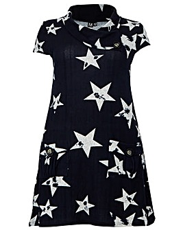 Izabel London Curve Print Tunic Dress