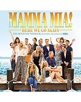 Mamma Mia Here We Go Again CD