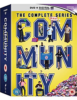 Community  Seasons 1 To 6 DVD