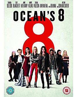 Oceans 8 DVD