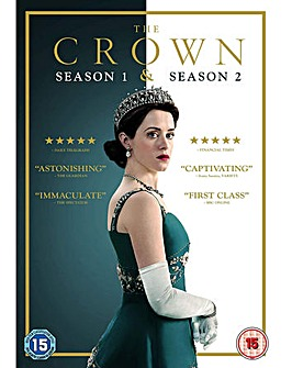 The Crown Season 1 To 2 DVD