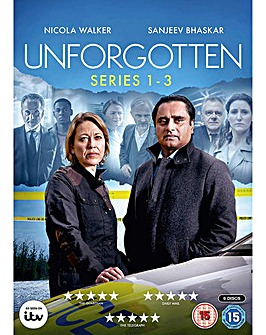 Unforgotten Series 1 To 3 DVD