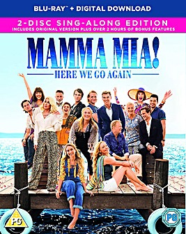 Mamma Mia Here We Go Again Bluray