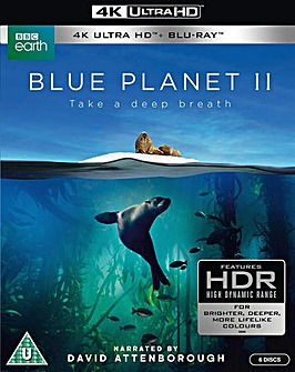 Blue Planet II 4k Bluray