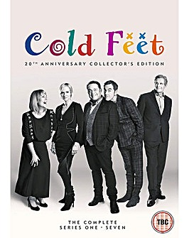 Cold Feet Complete 1 To 7 DVD